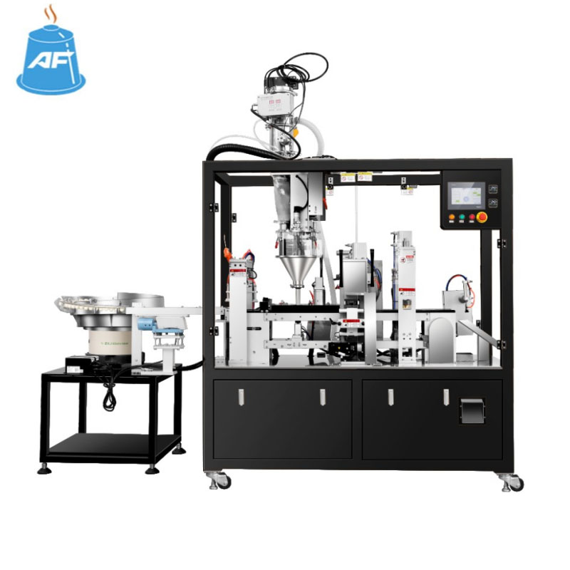coffee pod packaging machine